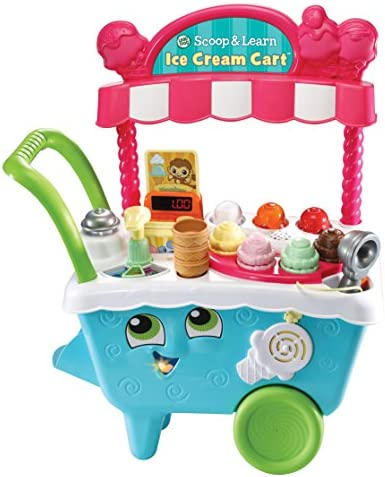 LeapFrog Scoop Learn Cream Cart product image
