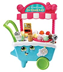 Learning is sweet when pretending to run your own ice cream cart! The Scoop & Learn Ice Cream Cart lets you create a variety of imaginative and tasty-looking ice cream combinations using four flavors of ice cream, three toppings and three...