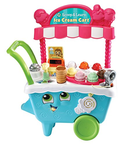 LeapFrog Scoop & Learn Ice Cream Cart (2 Year Old Birthday Present For Girl)