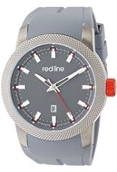 red line Men's RL-10016-GM-014 Gauge Analog Display Japanese Quartz Grey Watch