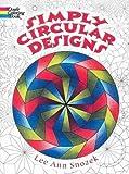 Simply Circular Designs Coloring Book (Dover Design Coloring Books)
