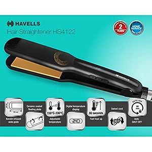 HAVELLS Keratin Hair Straightener (Black)