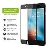 iPhone 6s Plus Screen Protector, Simpiz Shield Crystal Clear Ultra Thin Touchscreen Accuracy Hard 9H Tempered Glass Screen Cover for iPhone 6 Plus & iPhone 6S Plus - With Edge to Edge Black Frame