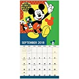 2018 Mickey Mouse Wall Calendar (Mead)
