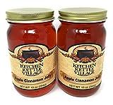 Kitchen Kettle Village Apple Cinnamon Jelly, Kitchen Kettle Village (Amish Made), 10 Oz. Jars (Pack of 2)