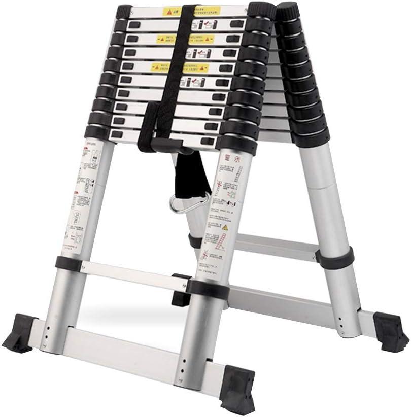 DD Escalera Telescópica, Escalera De Aluminio, Escalera De Espiga De Elevación, Escalera Plegable De Ingeniería Portátil (Tamaño : Herringbone Ladder 1.4m(4.59 ft)): Amazon.es: Bricolaje y herramientas
