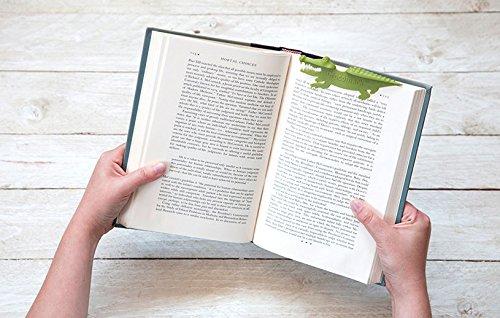 CROCOMARK Crocodile Bookmark by Peleg Design