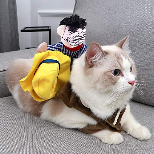 UEETEK Pet Costume Dog Costume Clothes Pet Outfit Suit Cowboy Rider Style,Fits (M) - http://coolthings.us