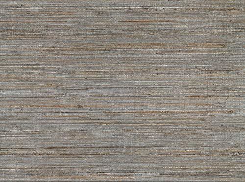 Kenneth James 2732-80085 Shandong Slate Ramie Grass Cloth Wallpaper