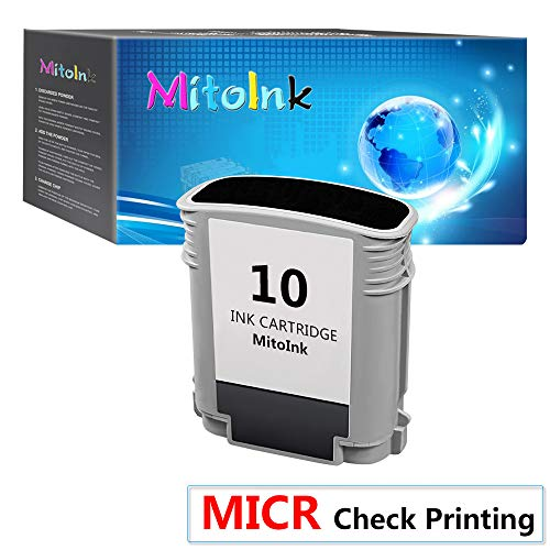 MitoInk 2800 MICR Remanufactured Ink Cartridge Compatible for Business Inkjet Series 2800 Printer Black MICR Ink Cartridge - for Check -