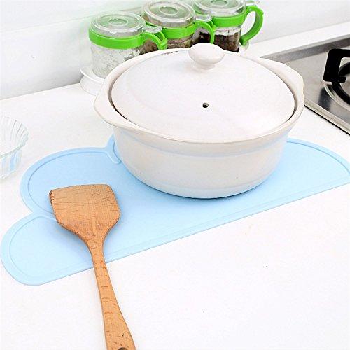 diner fait en silicone alimentaire sans BPA napperons de plateau pour caf/é Set de table OneSky-UK pour nourrisson mangeoire pour un temps de repas agr/éable et simple enfants set de table pour les tout-petits adulte