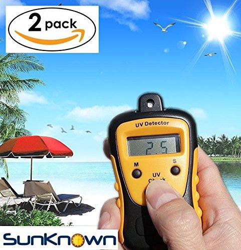Sunlight Meter for Measuring Harmful Ultraviolet Light Radiations - Portable UV Intensity Meter & UV Sun Light Strength Tester - Digital UV Index Sensor & Handheld UV Detector - By - How For To Protection Sunglasses Test Uv