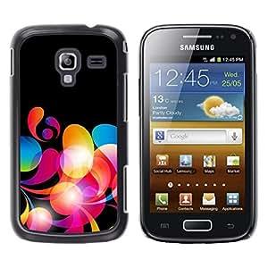 Be Good Phone Accessory // Dura Cáscara cubierta Protectora Caso Carcasa Funda de Protección para Samsung Galaxy Ace 2 I8160 Ace II X S7560M // Neon Colors Wallpaper Random Pattern R