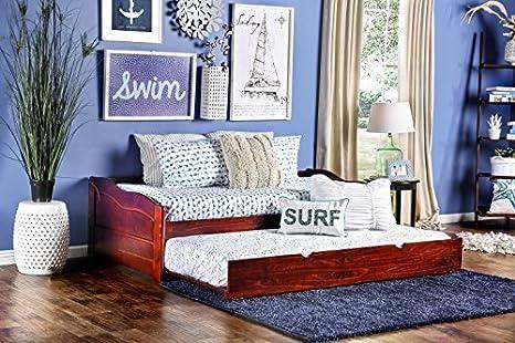 Amazon.com: Muebles de América Modal sofá cama con rodar ...