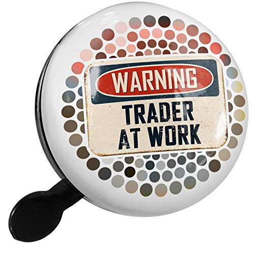 NEONBLOND Bike Bell Warning Trader at Work Vintage Fun Job Sign Scooter or Bicycle Horn ()