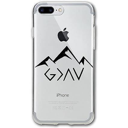coque iphone 8 plus montagne