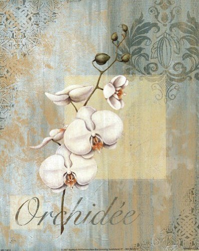 Valse Bleue II by Daphne Brissonnet - 8x10 Inches - Art Print Poster