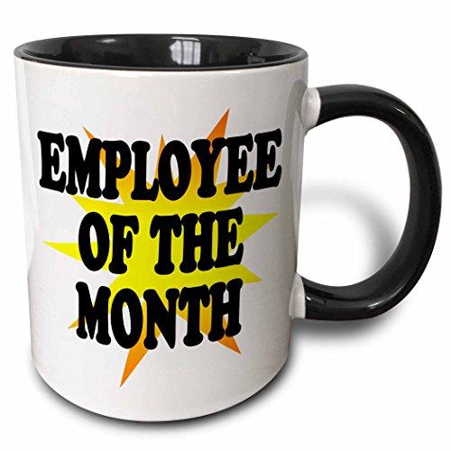 3dRose mug 193315 4 Employee Month Black