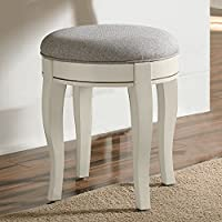 Hillsdale Kids and Teens 20545 Kensington NE Kids Vanity Stool, Antique White