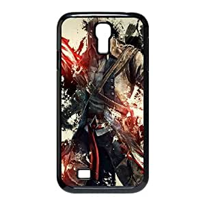SamSung Galaxy S4 9500 phone cases Black Assassins Creed cell phone cases Beautiful gifts LAYS9807129