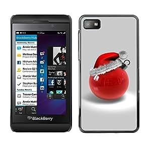 YOYO Slim PC / Aluminium Case Cover Armor Shell Portection //Christmas Holiday Red Decoration 1054 //Blackberry Z10