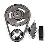 ECCPP TK5020 Timing Chain Kit Tensioner Guide Rail Cam sprockets Crank Sprocket Replacement for 94-02 Dodge Dakota Jeep Wrangler 2.5L OHV MAGNUM