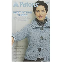 Spinrite Patons Next Steps Three Create Cardigan