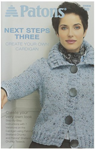 Spinrite Patons Next Steps Three Create Cardigan