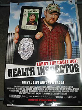 Larry The Cable Guy Health Inspector Orig U S One
