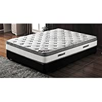 Milton Greens Stars 10 Pocketed Coil Mattress with Pillow Top, Eastern King