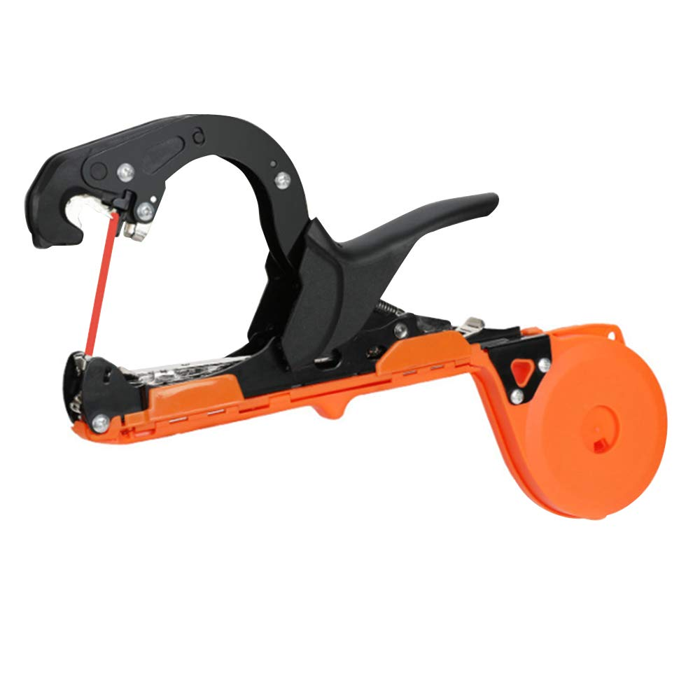 BELUPAID Plants Tying Machine Garden Vine Tying Tape Tool Agriculture Tapener Hand Binding Machine for Grape Vines Vegetables Flowers Tomatoes Vines Stem, with 1 Tapes & 1 Staple