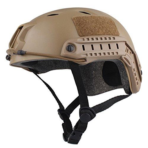Combat Type - EMERSONGEAR Fast Helmet, BJ Version Tactical Military Combat Helmet DE