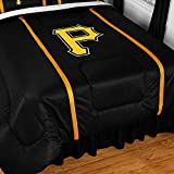 "Pittsburgh Pirates MLB ""Side Lines"" Collection Bed Comforter"