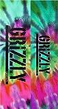 GRIZZLY 20/BOX STAMP SKATE GRIPTAPE REVERSE TIE DYE