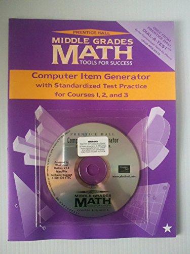 Middle Grades Math Computer Item Generator