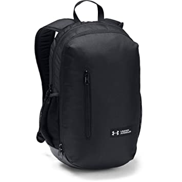 Under Armour UA Roland Backpack Mochila, Unisex Adulto, Negro Black/Silver 001, Talla única: Amazon.es: Deportes y aire libre
