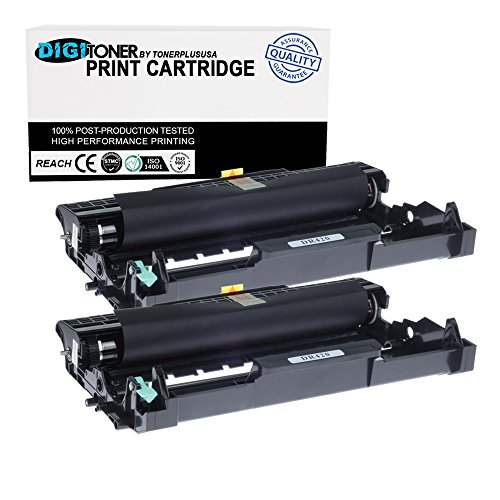 Compatible Replacement Drum - DigiToner Compatible Replacement Brother DR420 Drum Unit FOR TN450 TN420 (2 Pack)