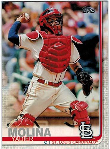 (2019 Topps Series 1 & 2 St. Louis Cardinals Team Set with Yadier Molina & Matt Carpenter - 25 MLB Cards)