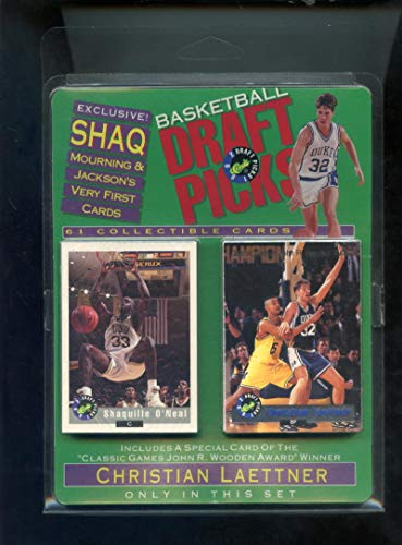 1992-93 Classic Basketball Draft Picks Complete Set Shaquille O'Neal Rookie Card ONeal FACTORY SEALED