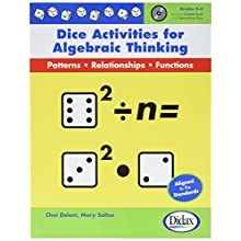 Didax Educational Resources Dice Activities For Algebraic Thinking