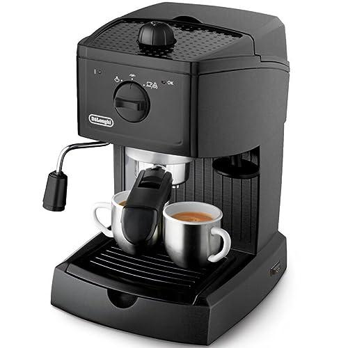 De'Longhi EC146.B Traditional Pump Espresso Machine - Black