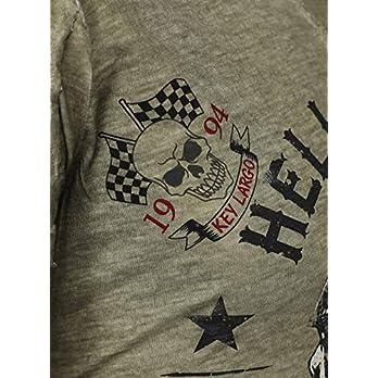 Key Largo Herren T-Shirt HELL RIDERS Skull Totenkopf