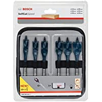 Bosch 2608595424 Assortiment de mèches plates Self Cut Speed Ø 14/16/18/20/22/24 mm