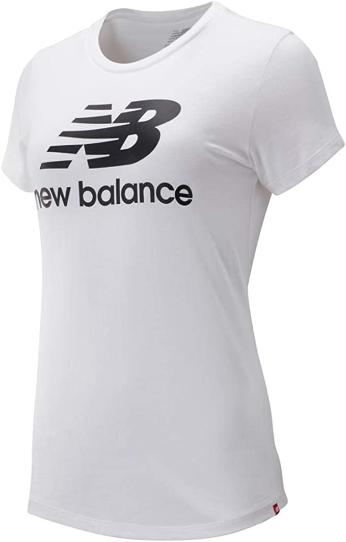 New Balance Essentials Stacked Logo T-Shirt Donna