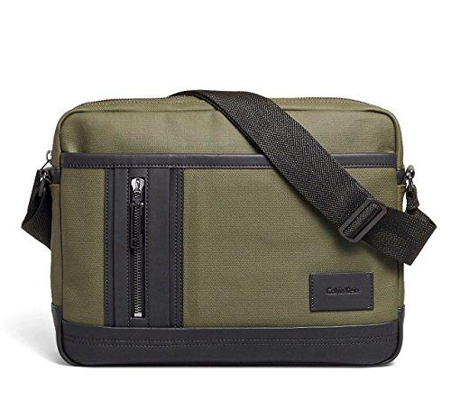 Calvin Klein Mens Ethan Travel Messenger Bag