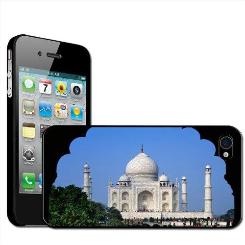 Fancy A Snuggle Schutzhülle / Case / Hartschale für Apple iPhone4 / 4S, zum Aufstecken, Motiv Taj Mahal
