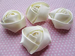 4be9538e89ac1 YYCRAFT Pack of 30 Satin 4d Rose 1.5