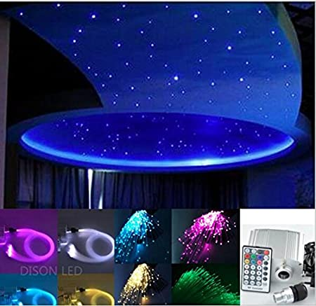 New 10w rgbw led twinkle fiber optic lights star ceiling fiber optic new 10w rgbw led twinkle fiber optic lights star ceiling fiber optic light 075mm 150pcs aloadofball Gallery