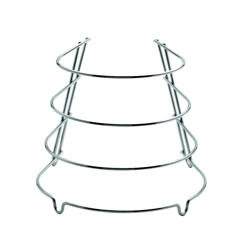 Weis Pan Stand, Stainless-Steel, Silver, 25 x 22 x 22 cm