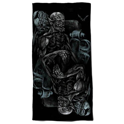 Monster Scary Bat Horror Horror Beast Beach Towel 28